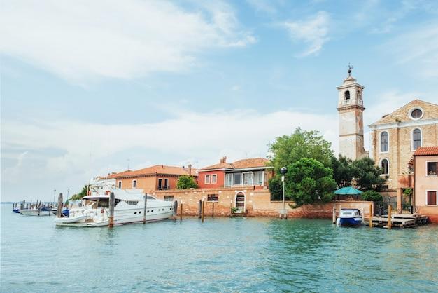 Venetië - groot kanaal van rialto-brug
