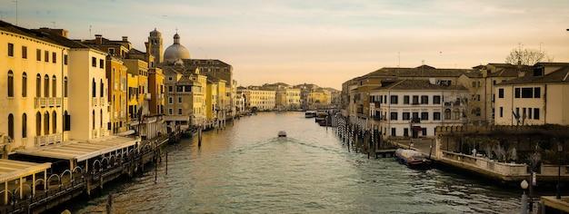 Venetië stad detail banner afbeelding met kopie ruimte