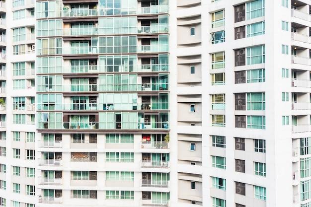 Venster gebouw patroon buitenkant