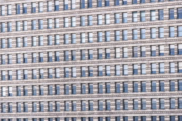 Venster gevel kantoorgebouw