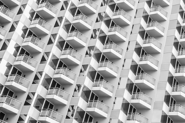 Vensterpatroon van gebouw