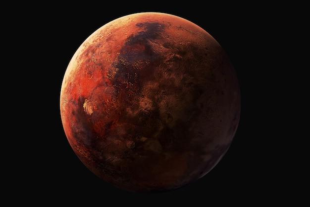 Venus-weergave. elementen van deze afbeelding worden geleverd door nasa