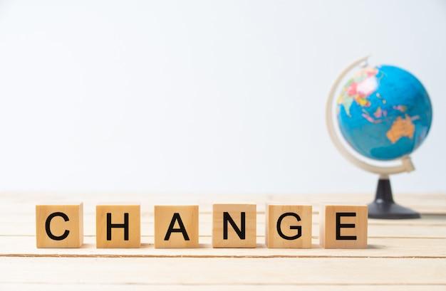 Verander de wereld.
