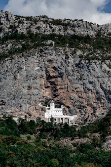 Verbazingwekkend ostrog-klooster, montenegro