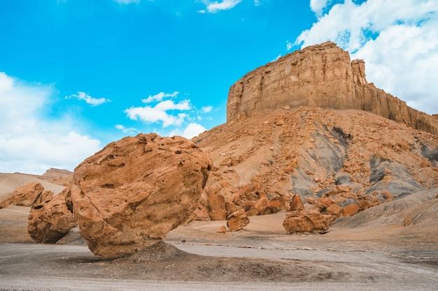 Verbazingwekkend panoramisch landschap in het rotsachtige landschap van utah in alstrom point usa
