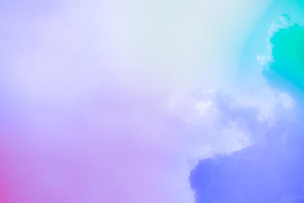 Verbazingwekkende mooie kunsthemel met kleurrijke wolken