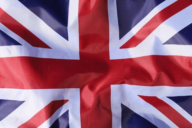 Verenigd koninkrijk vlag close-up