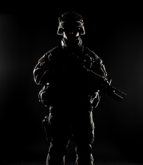 Verenigde staten paratrooper