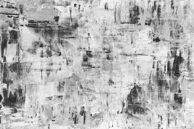 Verf achtergrondbehang, abstracte monochrome penseelstreektextuur