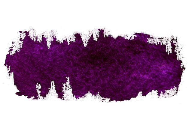 Verf paarse streken penseelstreek kleur textuur met ruimte voor uw eigen tekst