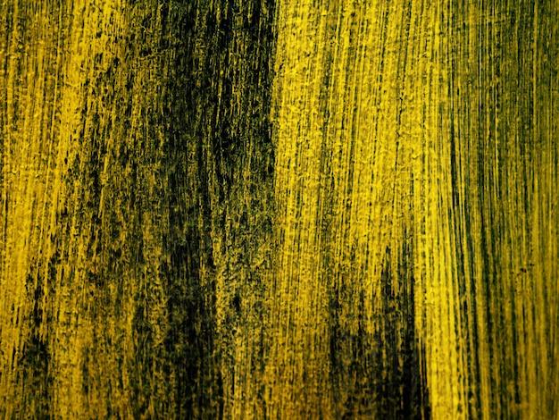 Verf penseelstreek olieverf goud