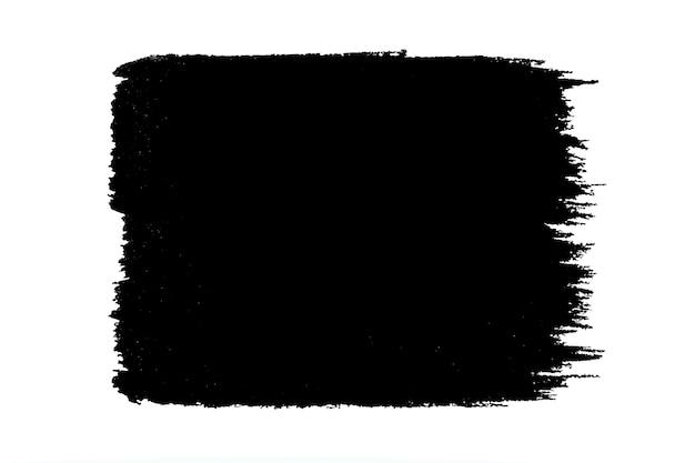 Verf zwarte streken penseelstreek kleur textuur met ruimte voor uw eigen tekst