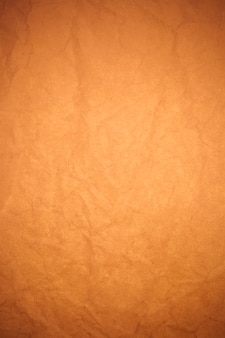 Verfrommeld bruin papier achtergrond.
