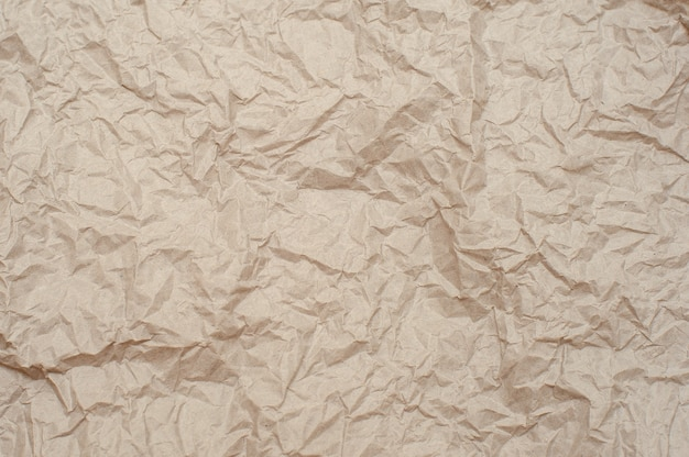 Verfrommeld papier textuur. achtergrond