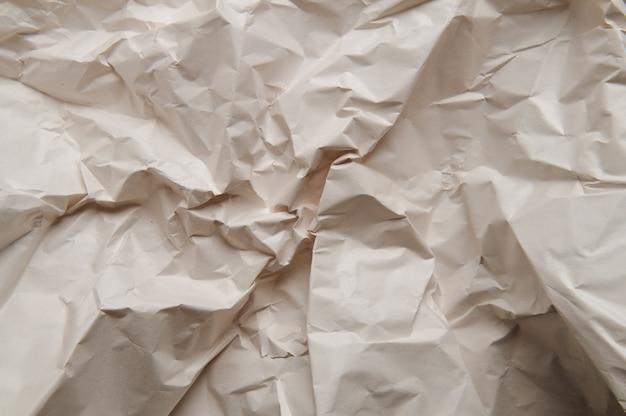 Verfrommeld papier textuur achtergrond