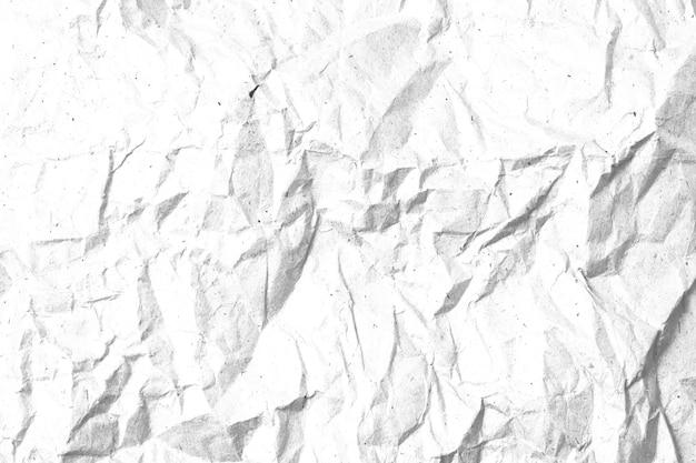 Verfrommeld papier textuur sjabloon voor overlay