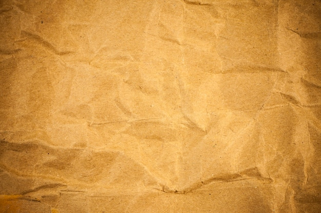 Verfrommeld papier textuur.