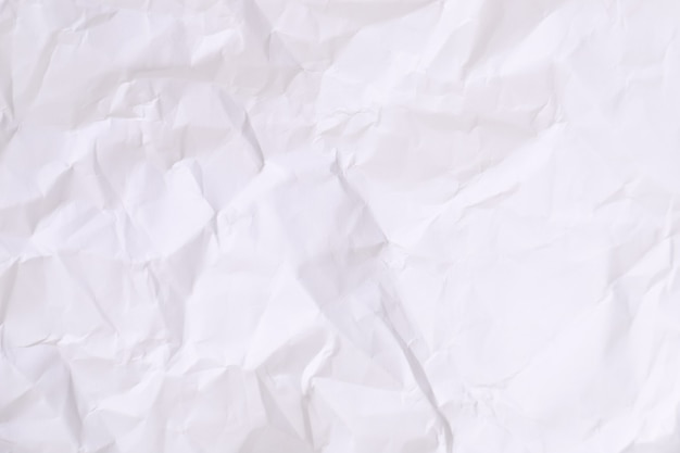 Verfrommeld wit karton