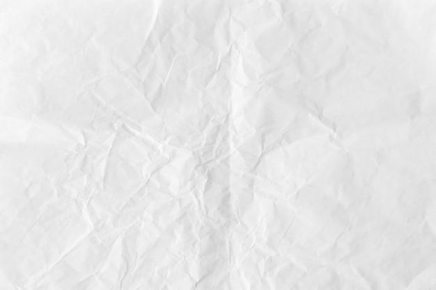 Verfrommeld wit papier getextureerde achtergrond