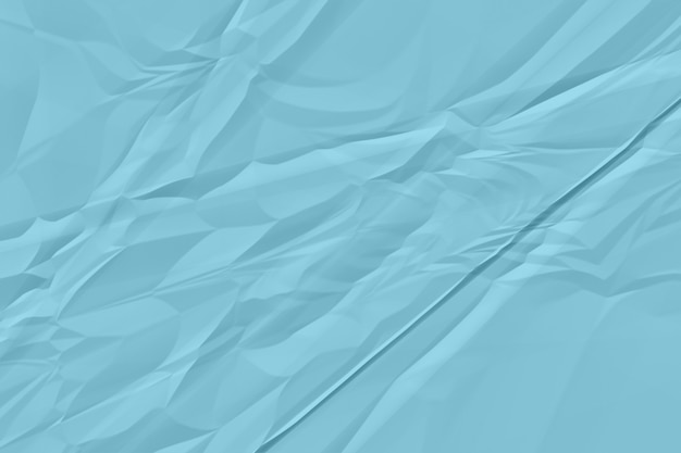 Verfrommelde blauwe document achtergrond dicht omhoog