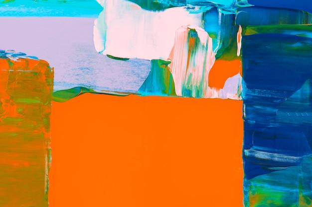 Verftextuur achtergrondbehang, abstracte kunst met gemengde kleuren