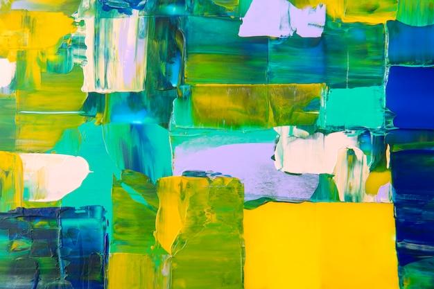 Verftextuur achtergrondbehang, kleurrijke abstracte kunst