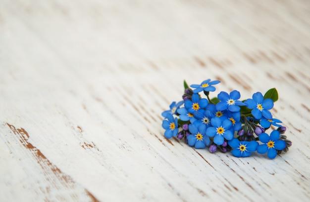 Vergeet-mij-nietjes bloemen