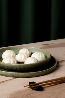 Vergrote weergave van heerlijke dumplings