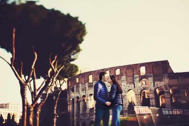 Verhaal boog toeristische italiaanse saamhorigheid