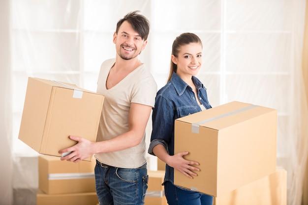 Verhuizen, aankoop van nieuwe bewoning.