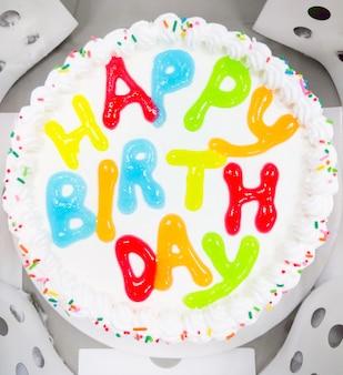 Verjaardag ijs taart