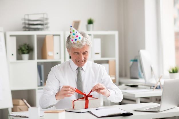 Verjaardag van directeur