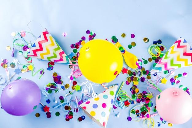 Verjaardagsfeest achtergrond