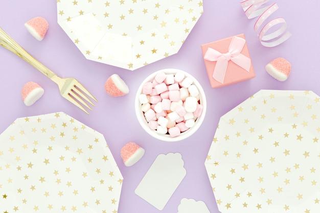 Verjaardagsfeestje arrangement set