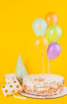 Verjaardagstaart stilleven