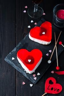Verjaardagstaart voor valentijnsdag