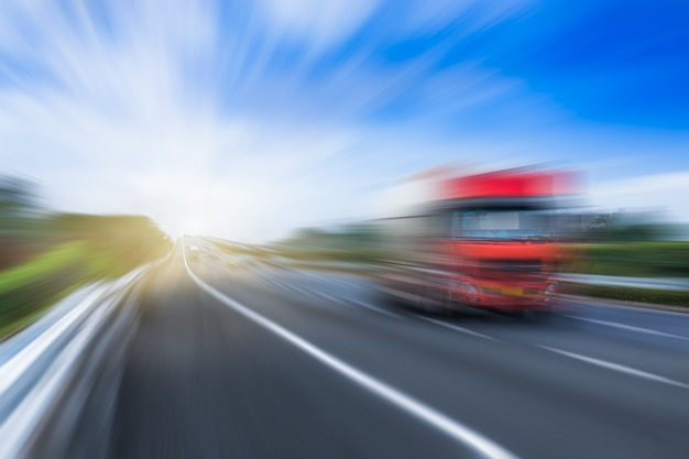 Verkeer op de snelweg