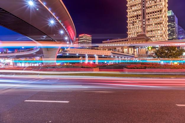 Verkeerslicht paden in het centrum