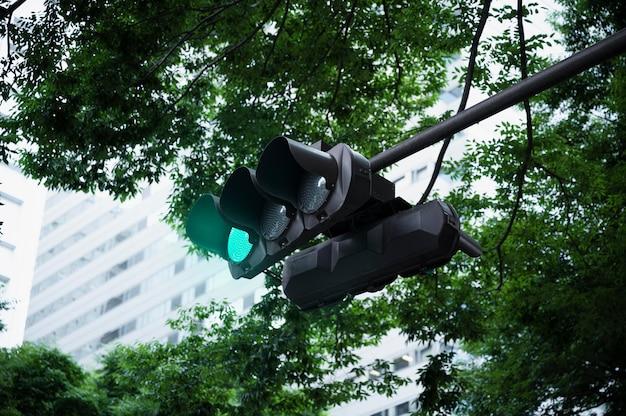 Verkeerslicht voor stadsstraten