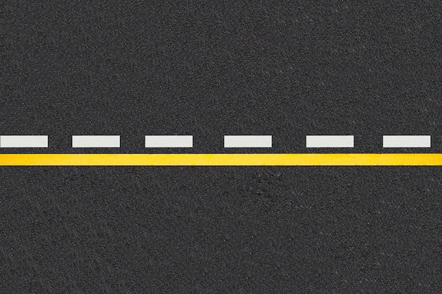 Verkeerslijnen op verharde wegen achtergrond