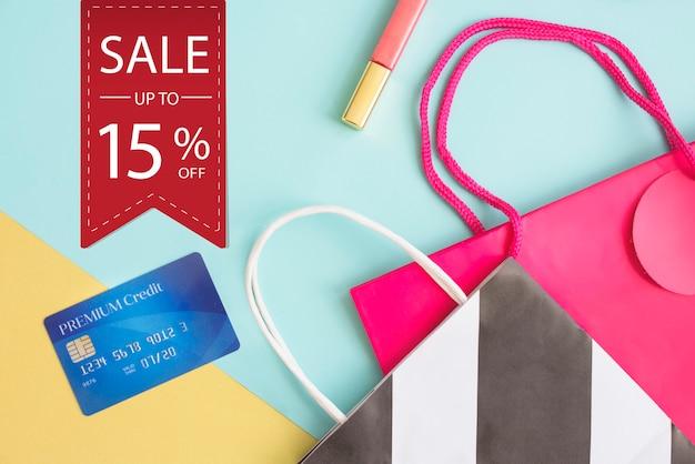 Verkoop commerce deal korting promotie concept