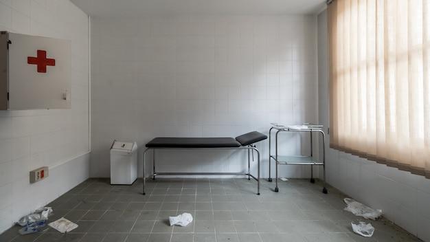 Verlaten medische apotheek