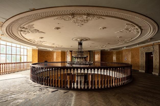 Verlaten sanatorium