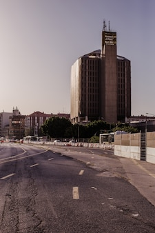 Verlaten stadsbeeld