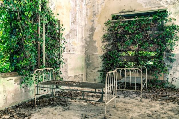 Verlaten ziekenhuis in poveglia