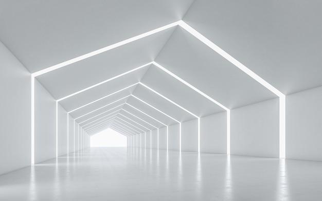 Verlicht corridor interieur