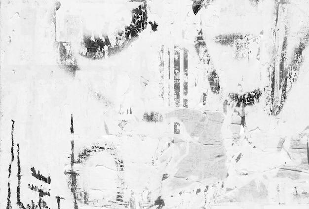 Vernield witte muur