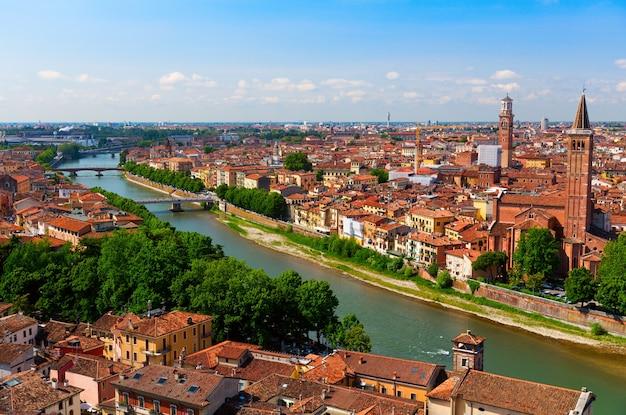 Verona uitzicht op de oude stad