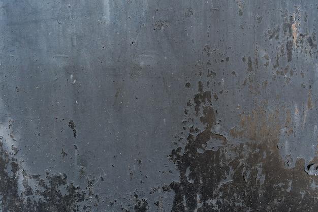 Verontruste bekledingstextuur van geroest gepeld metaal. grunge achtergrond.