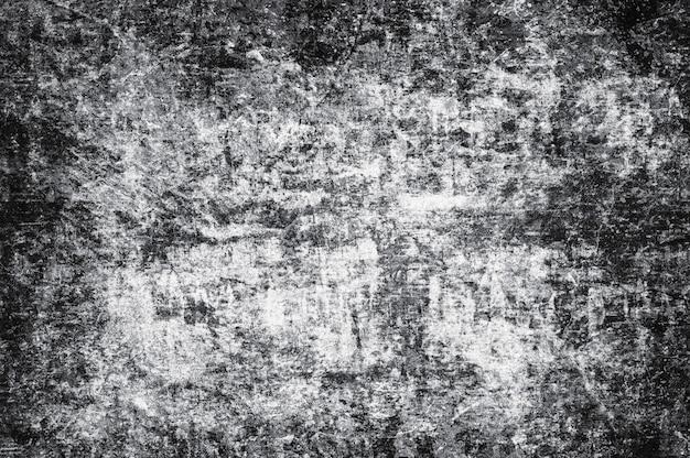Verontruste donkere zwarte betonnen muur grunge achtergrond